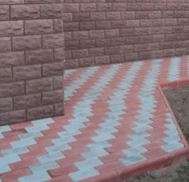 Как сделать отмостку дома тротуарной плиткой?