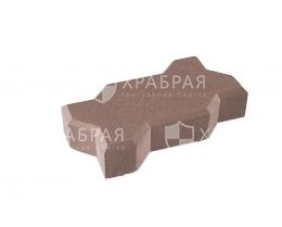 Зиг-заг 225х125х45 коричневый